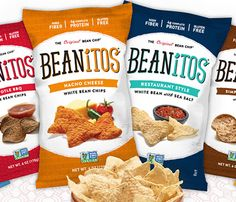 75 Snacks Under 200 Calories: Beanitos Bean Chips = 140 calories per 12 chips