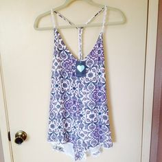 Pac Sun Romper This romper was only worn once, to short on me. But super cute! Pretty purple color. Dresses