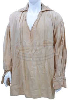 Pirates of the Caribbean: Curse of the Black Pearl - Captain Jack Sparrow's Shirt (Johnny Depp) - ScreenUsed Pirate Garb, Pirate Costumes, Jack Sparrow Costume, On Stranger Tides, Pirate Fashion, Pirate Shirts, Captain Jack Sparrow, Walt Disney Pictures, Pirate Life