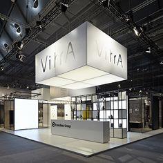 Simple. Clean. Elegant. Great trade show display. VitrA | ISH Frankfurt 2015