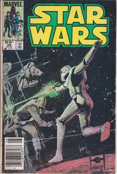 Star Wars 98 Marvel Comics 1977 For Sale Al Williamson Star Wars Comics, Star Wars Uk, Star Wars Comic Books, Marvel Comic Books, Marvel Comics, Star Trek, Classic Comics, Star Wars Collection, Comic Book Covers