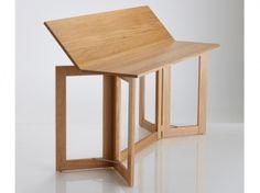 table à manger en bois avec planches pliables La Redoute Intérieurs