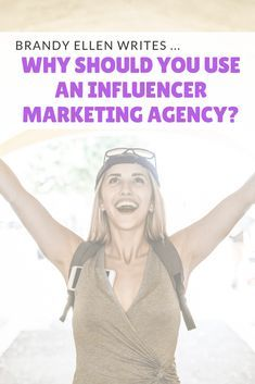 Why should you hire an Influencer Marketing Agency? These tips and more found at Brandy Ellen Writes today. Hire an agency who can boost your brand! Email Marketing Agency, Marketing Consultant, Small Business Marketing, Influencer Marketing, Content Marketing, Digital Marketing, Blogging For Beginners, Competitor Analysis, Startups