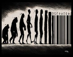 10 Funny Satirical Illustrations Which Sum Up Evolution Perfectly. Sad, but TRUE! Banksy, Evolution Cartoon, Human Evolution, Sticker Street Art, Satirical Illustrations, Street Art Graffiti, Funny Art, Cool Pictures, Beautiful Pictures
