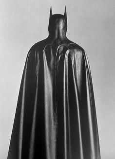 Batman cape and cowl | Property of Herb Ritts