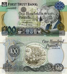 Pound Sterling, Northern Ireland, Sailing Ships, Wealth, Central Bank, Notes, Coining, Money, Boats