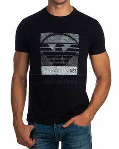 Camisetas Emporio Armani EA7 ® Negra - YPTD | ENVIO GRATIS