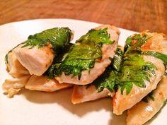 安い、ウマイ、早い。おまけに低カロリーな「鶏ササミの大葉味噌焼き」