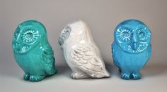 Owl Ceramic Figurine