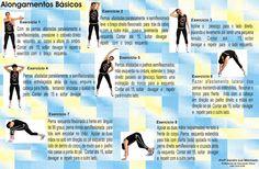 D`s GYM - Movimento, Esporte e Saúde/Profº Dodô: Alongamentos Básicos!!