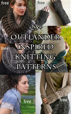 Sassenach Knitting Patterns - In the Loop Knitting