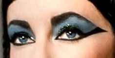 Elizabeth Taylor Eyes those violet eyes~Who...oh, who had the nerve to wear makeup like this in her day? Why, Liz, of course...the original Diva...