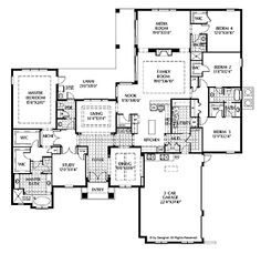 Bathroom Layout Jack And Jill house+plans+with+bathroom+in+each+bedroom | bedroom house plans on