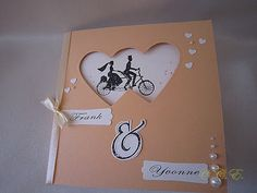 Claudines-Allerlei.de: Eine Hochzeitskarte....