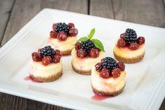 mini cheesecake senza cottura