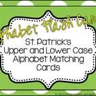 St. Pat's Day would not be the same without shamrocks and and a little luck! Here is a simple alphabet upper and lower case matching set of cards f...