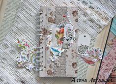 "Купить Блокнот ""Перелетные"" - блокнот, блокнот на пружине, бохо, бохо стиль, бохо блокнот, boho, book, notebook, notepad, boho style,"