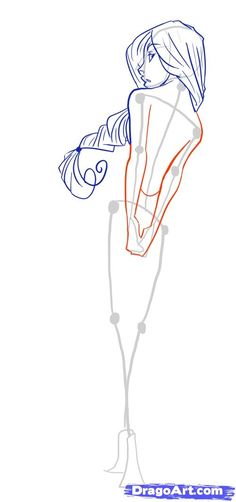How to Draw Female Figures, Draw Female Bodies, Step by Step, Anime Females, Anime, Draw Japanese Anime, Draw Manga, FREE Online Drawing Tutorial, Added by MauAcheron, June 24, 2012, 1:20:17 am by olga