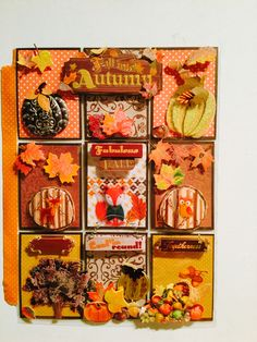 Autumn Theme pocket letter created by Brittany Mitchell. Super fun.