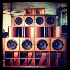 Epic wood sound system
