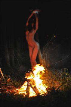 Beltane - May Day - Unity - bonfire