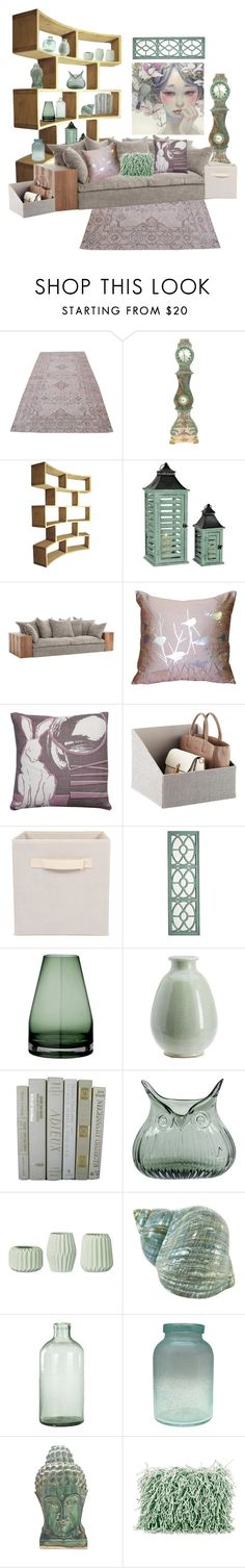 """""""Declutter"""" by alynncameron ❤ liked on Polyvore featuring interior, interiors, interior design, home, home decor, interior decorating, Pillow Decor, Rapture & Wright, Pier 1 Imports and Pottery Barn"""