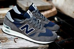 "New Balance 2012 Fall ""Navy and Grey"": While some occasions may call for a louder, more bold footwear option, there is certainly something Zapatos New Balance, New Balance Sneakers, New Balance Shoes, New Balance Style, Me Too Shoes, Men's Shoes, Shoe Boots, Roshe Shoes, Fall Shoes"