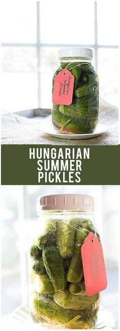 Fermenting Pickles! Hungarian Summer Pickles