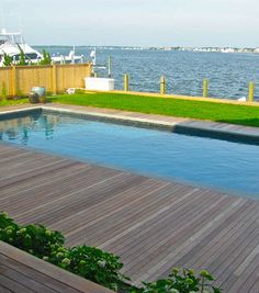 wooden pool deck ideas | Swimming Pool Wood Deck Design Ideas, Pictures, Remodel, and Decor