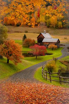 ***New England farm (Woodstock, Vermont) by Ross Kyker E