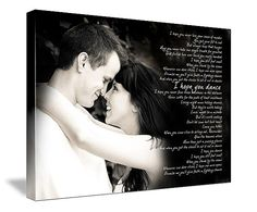 wedding song canvas