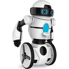 WowWee Mip Robot is an remote control robot that dances and does tricks like no other robot!!  My ten year old boy wants this so bad for Christmas!!
