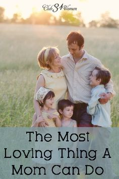What's one of the best ways a mom can show love to her children? Something we can tend to forget. The Most Loving Thing A Mom Can Do. All Mammas should read! Marriage And Family, Family Life, Godly Marriage, Sports Illustrated, Train Up A Child, Mentally Strong, Christian Parenting, Raising Kids, Parenting Advice