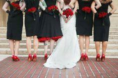 Rockabilly wedding look