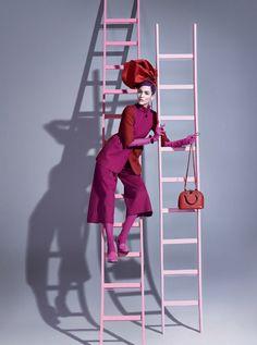 Vivid pink fashion editorial with Zuzanna Bijoch Vogue Brasil February 2014 Dreamy Photography, Photography Backdrops, Editorial Photography, Fashion Photography, Shoe Photography, Glamour Photography, Lifestyle Photography, Pink Fashion, Fashion Shoot