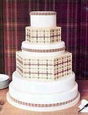 Plaid cake :)