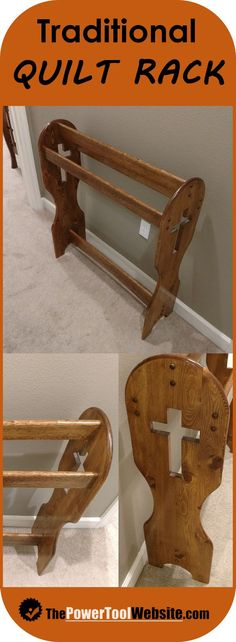 Astounding Woodworking Projects For Beginners Ideas Woodworking 101 Beginner woodworking project. Build a quilt rack with pine and a scroll saw. Joinery is screws with buttons to hide them. Easy wood project for the weekend. Woodworking Kit For Kids, Easy Woodworking Ideas, Woodworking Projects That Sell, Woodworking Furniture, Fine Woodworking, Youtube Woodworking, Woodworking Basics, Furniture Plans, Woodworking Inspiration