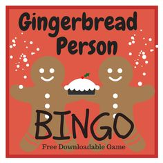 The Gingerbread Man Bingo - ready to print now for free ...