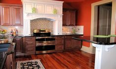 Painted kitchen cabinetry is one of the kitchen trends that is here to ... This brings us to the wildly popular two-tone cabinets kitchen trend.