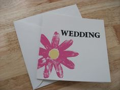 Tropical Love. Traditional fold invitations. Prices from £1.00 for evening invitations  www.facebook.com/designedwithlove2012