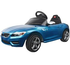 BMW Z4 Cabrio als Kinderauto. Das Kinderelektroauto für Kinder. Lizenziertes Design BMW Z4 in blau von www.cars-4-kids.de