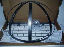 Rogar Gourmet Pot Rack Hammered Steel Half Dome 3901 W Grid