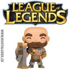 Funko Funko Pop! Games League of Legends Braum geek suisse shop noel