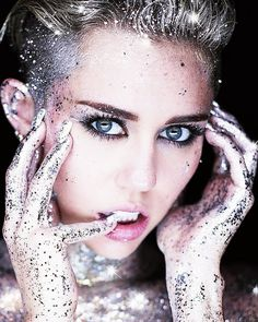 Found here and there ........ - soshallo: Glitter, by Miley Cyrus