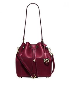 Michael Michael Kors Greenwich Medium Saffiano Bucket Bag