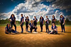 Softball Group Shot with Attitude   Flickr - Photo Sharing!