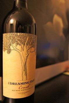 The Dreaming Tree Crush: Super great red blend. Recognize the name? Inspired by Dave Matthews himself!