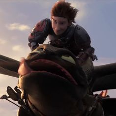 Hiccup and Toothless .... HTTYD2
