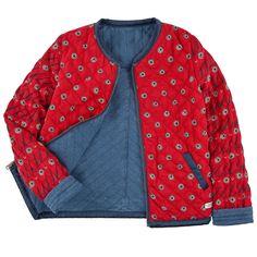 Reversible denim jacket - 124103