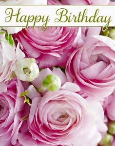 birthday messages Birthday Quotes : Pretty Pink Happy Birthday Roses - The Love Quotes Happy Birthday Flowers Images, Happy Birthday Rose, Birthday Wishes Flowers, Happy Birthday Wishes Cards, Birthday Roses, Birthday Blessings, Happy Birthday Pictures, Card Birthday, Birthday Ideas